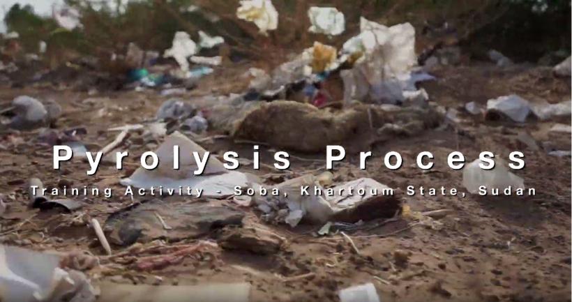 Cattura pyrolysis